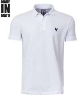 Camisa Polo Masculina Made in Mato Branca