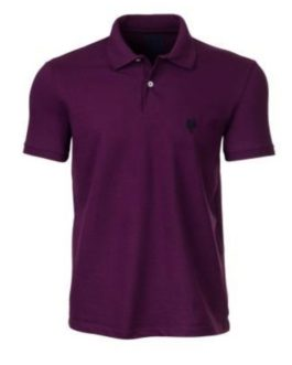 Camisa Polo Masculina Made in Mato Roxa