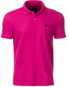 Camisa Polo Masculina Made in Mato Pink