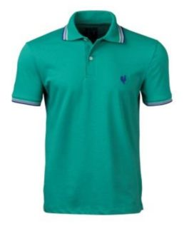 Camisa Polo Masculina Made in Mato com Filete Verde