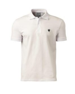 Camisa Polo Masculina Made in Mato Off White