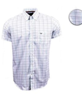 CAMISA ALL HUNTER XADREZ MC ILLINOIS / BRANCA / VERDE