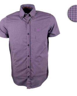 CAMISA ALL HUNTER MC XADREZ ARIZONA / ROXO / BRANCA