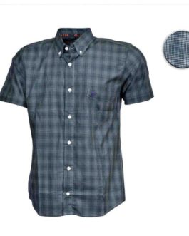 CAMISA ALL HUNTER MC XADREZ SPOON / VERDE / BRANCA