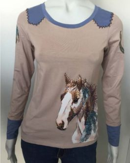 BLUSA MISS COUNTRY  HORSE FEATHERS ML