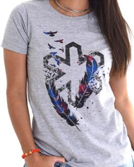 CAMISETA T-SHIRT TUFF FEATHER MIX