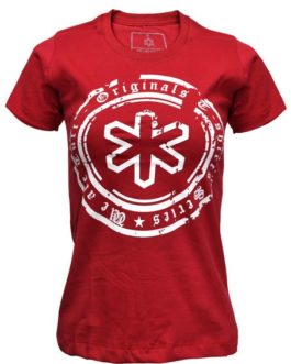 CAMISETA T-SHIRT TUFF BORDO