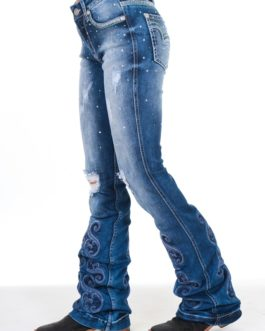 CALÇA JEANS FEMININA ZENZ LOVE YOU