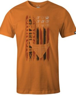 CAMISETA GRINGA´s WORK WEAR AMERICAN SHOOTER ORANGE